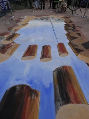 emirates 3d painting